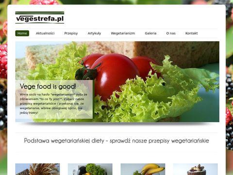 Vegestrefa.pl - kuchnia wegetariańska