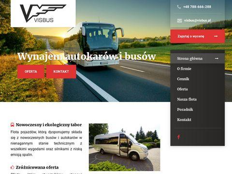 Visbus.pl autokar na wesele Legionowo