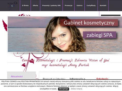 Gabinet kosmetyczny Vision of You