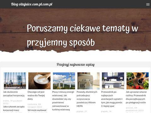 Vitajuice.pl wyciskarki do soków