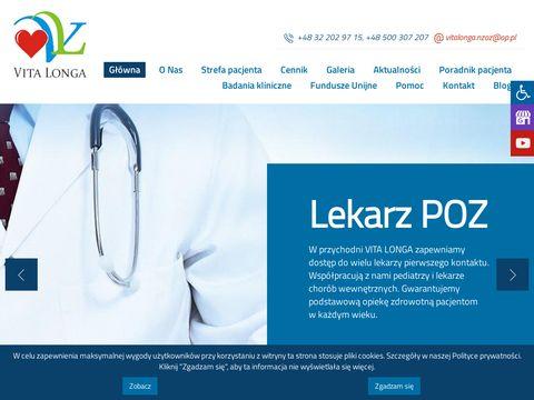 Vita Longa lekarz psychiatria Katowice