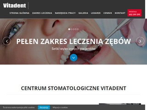 Vitadent.net.pl białe i zdrowe zęby