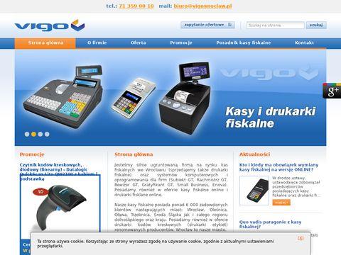 Vigo kasy fiskalne Wrocław