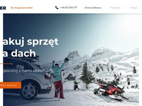 Voyager.info.pl bagażniki samochodowe