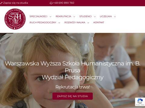 WSP Warszawa pedagogika przedszkolna