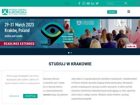 Wse.krakow.pl studia