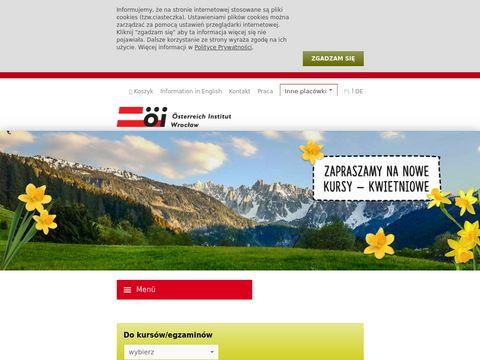 Österreich Institut Polska