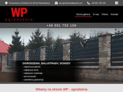 Wp-ogrodzenia.pl bramy