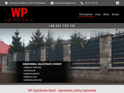 Wp-ogrodzenia.opole.pl bramy