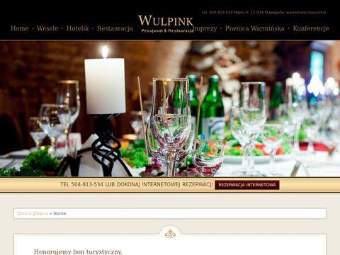 Wulpink.pl pokoje noclegowe Olsztyn