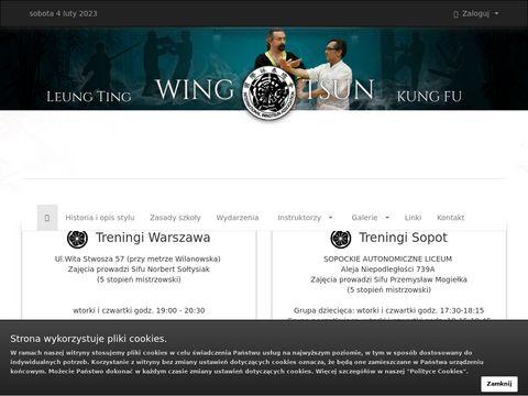 Wing Tsun kung-fu - Warszawa Sopot