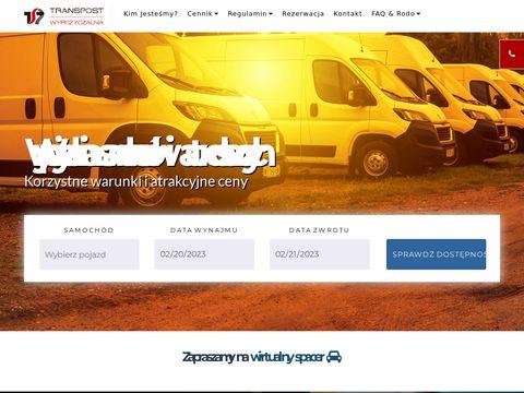 Transpost Spółka Akcyjna wynajem samochodów Poznań