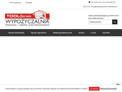 Wypozyczalnia-toolserwis.pl elektronarzędzi