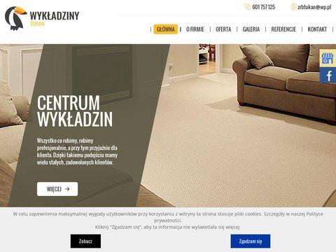 Tukan montaż wykładzin dywanowych Szczecin