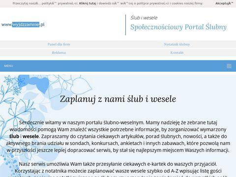 Wyjdzzamnie.pl ślub