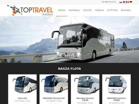 Top Travel wynajem autokarów Warszawa