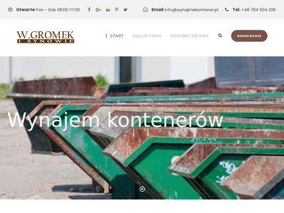 Wynajmekontener.pl wywóz gruzu Warszawa