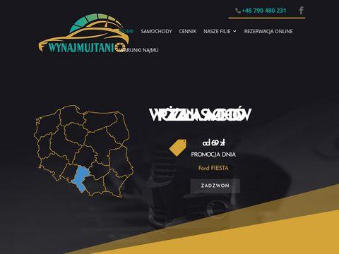 Wynajmujtanio.pl wypożyczalnia aut Rentacars
