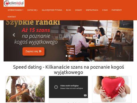 Wybierzsingla.pl szybkie randki w Twoim mieście