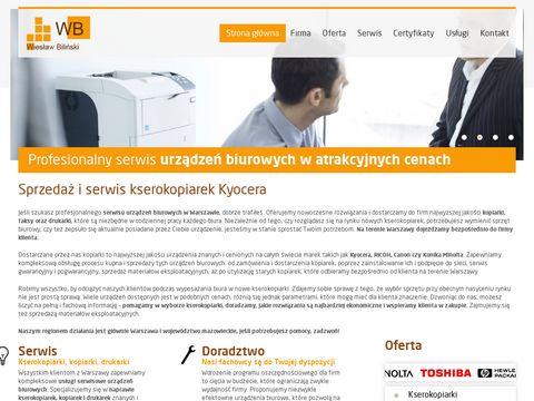 Wbserwis.org naprawa kopiarek Warszawa