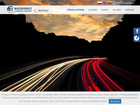 Waszkiewicz-transport.com