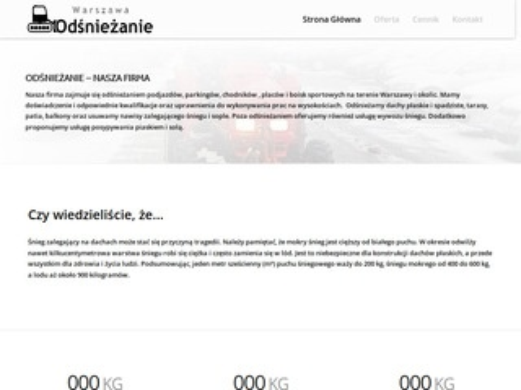 Warszawa-odsniezanie.pl firma Sorted