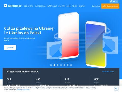 Walutomat.pl kantor online