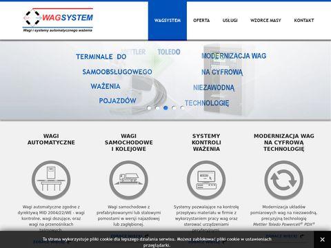Wagsystem.pl - sprzedaż, legalizacja, serwis wag