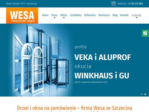 WESA fasady Szczecin
