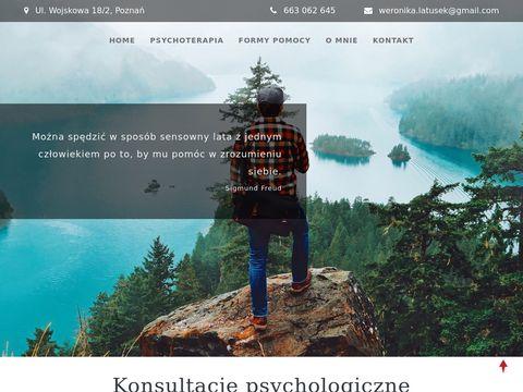 Weronikalatusek.pl - dobry psycholog Poznań