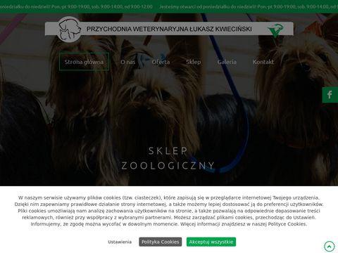 Weterynarz-kielce.eu Łukasz Kwieciński przychodnia