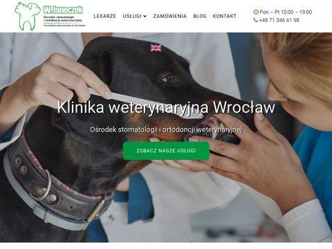 Witold Janeczek klinika weterynaryjna Wrocław