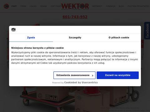 Transport i przeprowadzki - Wektor Szczecin