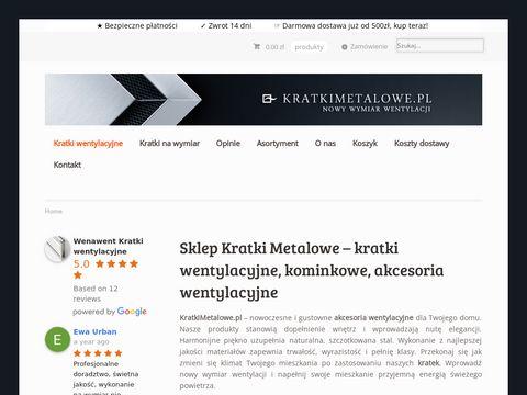 Wenawent.pl kratki na wymiar
