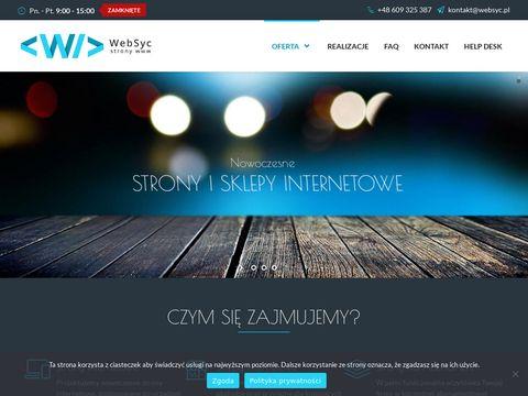 Websyc.pl projektowanie stron internetowych