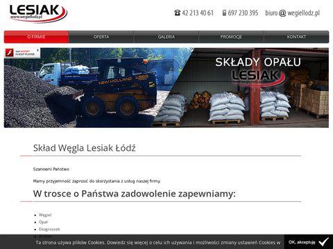 Wegiellodz.pl ekogroszek Łódź