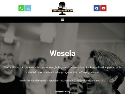 Zespół muzyczny na wesele weekendband.pl