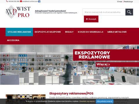 Wist-online.com producent wyposażenia dla sklepów