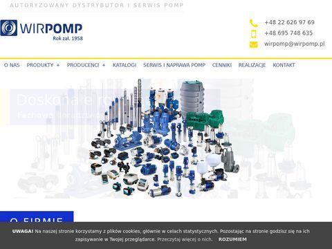 Dystrybutor pomp Warszawa – Wirpomp