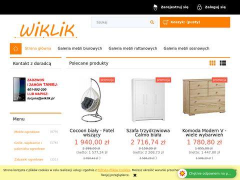 Wiklik.pl - meble sosnowe