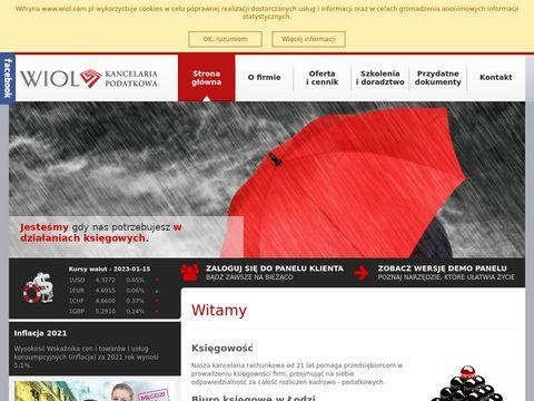 Wiol.com.pl biuro księgowe z długim stażem