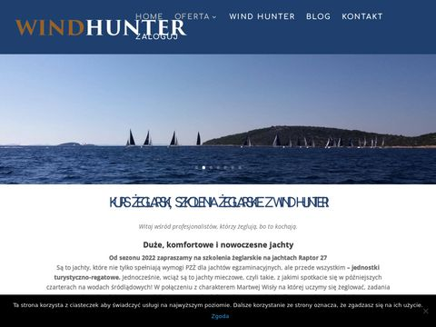 Wind-hunter.pl sternik motorowodny