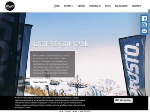 Winders.pl tanie flagi reklamowe
