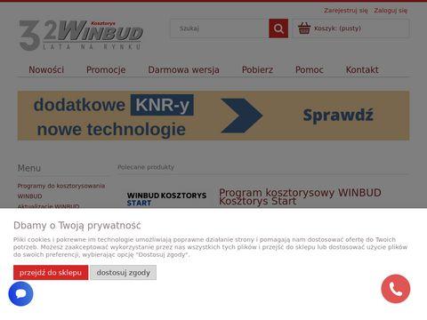 Winbudkosztorys.pl program do kosztorysów