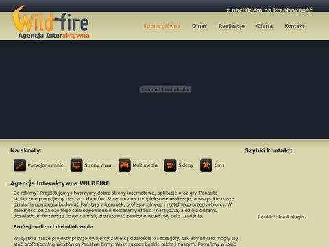 Wildfire.pl tworzenie gier flash