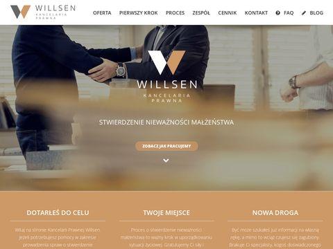 Willsen.pl stwierdzenie nieważności małżeństwa