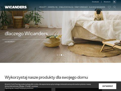 Wicanders.pl - podłogi drewniane