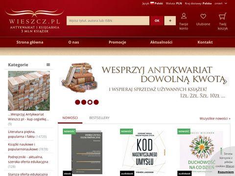 Księgarnia i antykwariat - Wieszcz.pl