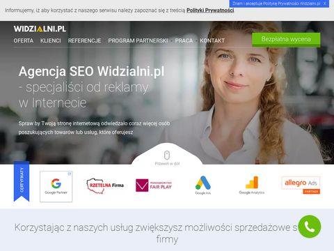 Widzialni.pl - pozycjonowanie stron