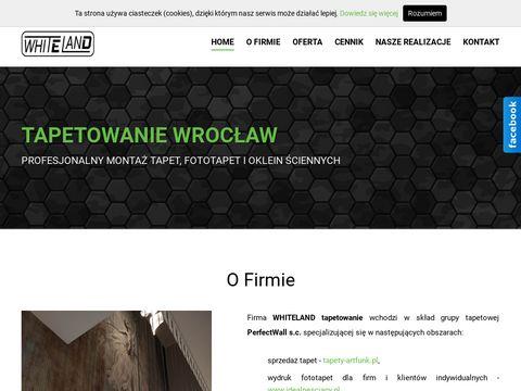 Whiteland.pl tapetowanie